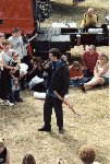 Someone tell Tony that it's sunny and he won't need his umbrella !!!  Truck Fest 2001, 01-Jul-2001