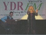 Amanda Rabdall sings, accompanied by Gordon Hawthorne Thwaite.  Jonathon Hope Memorial Fund, Charity Night, 15-Oct-2001