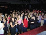 The crowd wait for 'The Full Monty' to begin.  Children In Need - Westland Sports & Social Complex, 16-Nov-2001