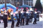 The Chicago Cats strut their stuff for the Brain Wave charity event