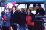 Paul B, Danny D & Chris enjoy cold, raising funds for Mencap